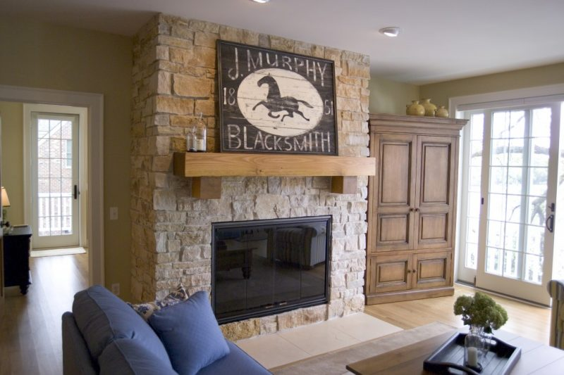 Fireplaces add wamth to your home