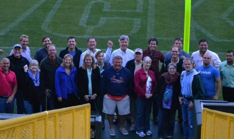 The Builder 20 Group at Lambeau Field