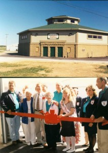 Ribbon Cutting at the Wiswell Center, built by Thelen Total Construction in 1998